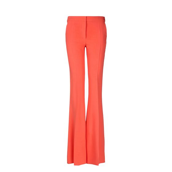 Stella McCartney Coral Fluid Tailoring Bedford Pants