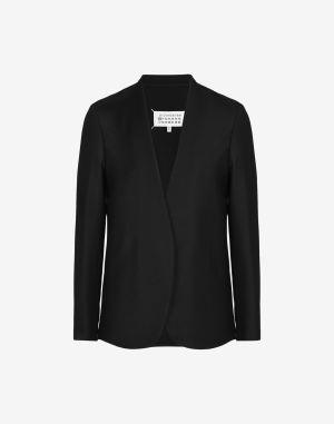 Maison Margiela Blazer Black Virgin Wool