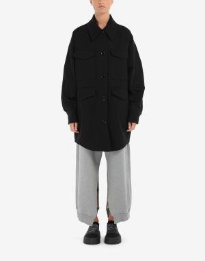 Mm6 By Maison Margiela Coats And Trenches Black