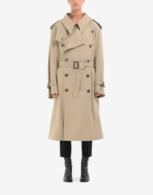 Maison Margiela Coats And Trenches Camel