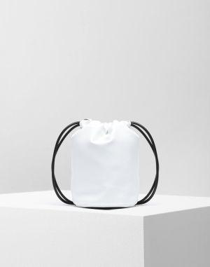 Mm6 By Maison Margiela Crossbody Bag White