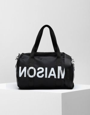 Mm6 By Maison Margiela Travel Bag Black