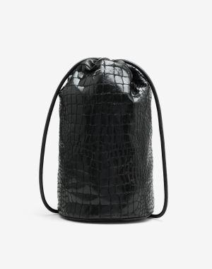 Mm6 By Maison Margiela Bucket Bag Black