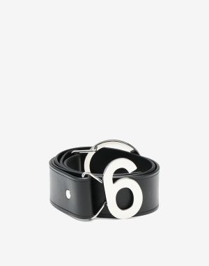 Mm6 By Maison Margiela Belt Black