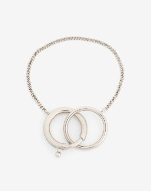 Mm6 By Maison Margiela Bracelet Silver