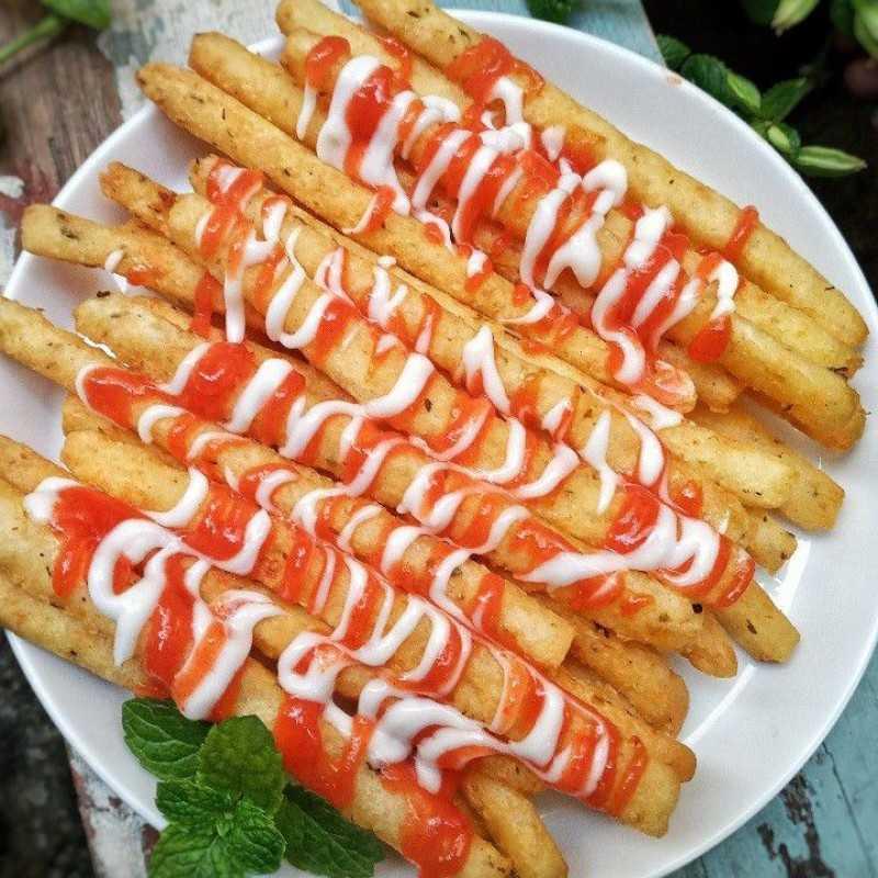 resep Jajanan Kekinian Potato Cheese Stick