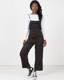 3782faed0ea RVCA Free Fall Jumpsuit Black