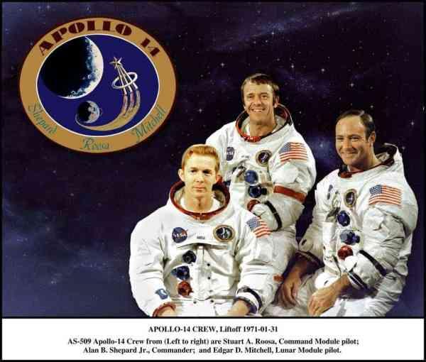 A tribute to the Apollo 14 fantastic photos
