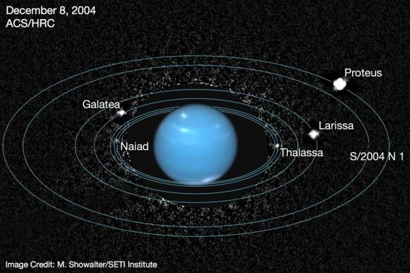 Neptune's 'lost' moon spotted for first time in 20 years