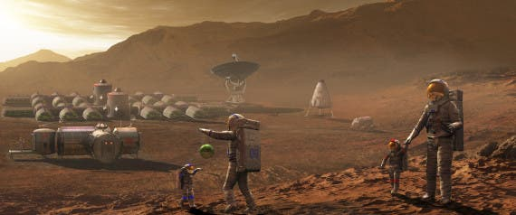 Synthetic biology might enable future manned missions to Mars