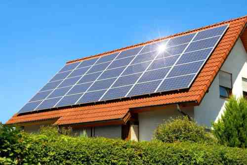 Image result for solar panels on houses
