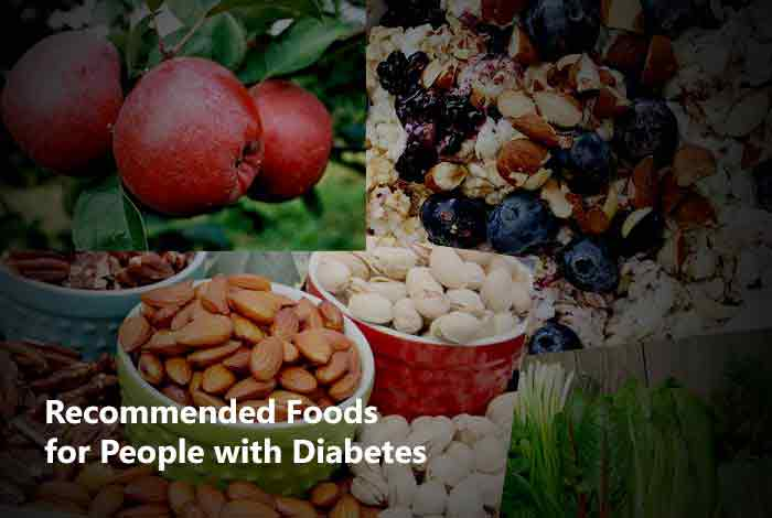 recommended foods for diabetes