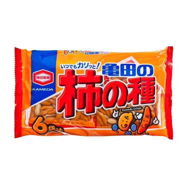 KAMEDA 龜田   柿之種米果   士多 Ztore