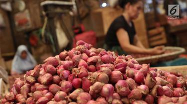 Harga Bawang di Pasar Kramat Jati