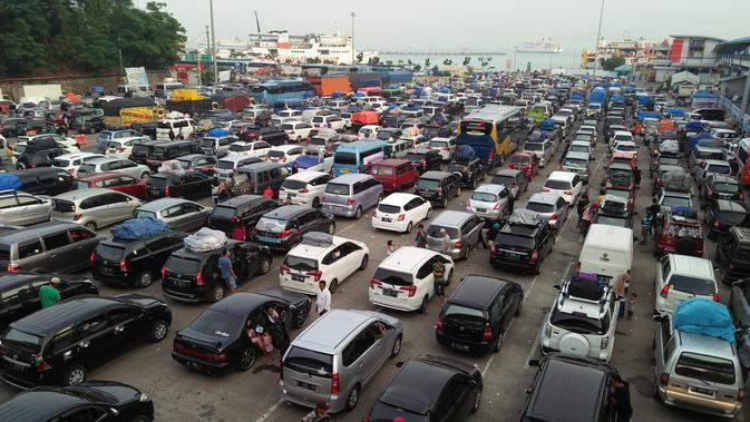 Pelabuhan Merak (Liputan6.com/ Yandhi Deslatama)