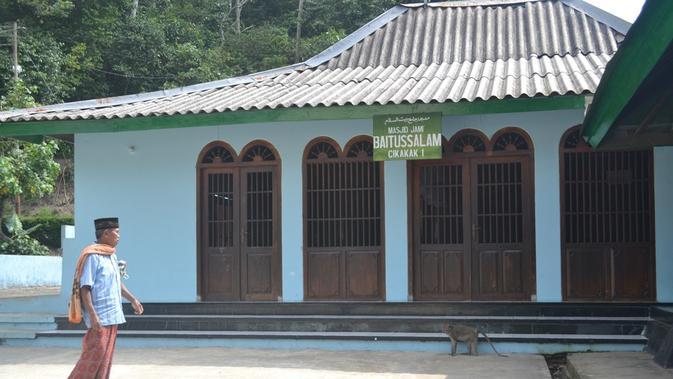 Masjid Saka Tunggal Baitussalam, Cikakak, Wangon, Banyumas terdaftar sebagai cagar budaya. (Foto: Liputan6.com/Muhamad Ridlo)