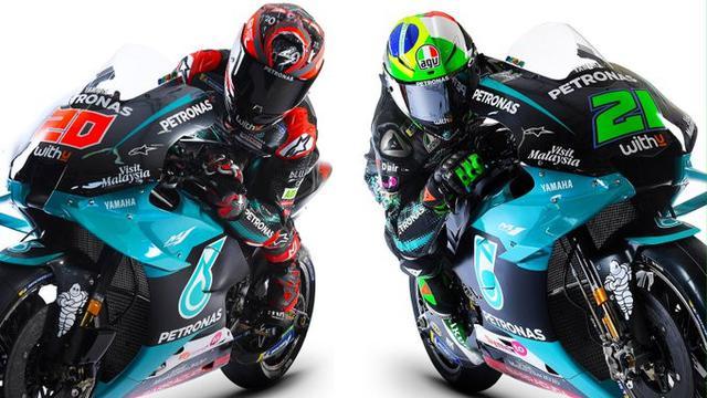 Motor Tim Petronas Yamaha di MotoGP 2020