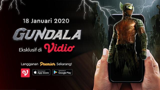 Segera Tayang Film Gundala Eksklusif Hanya di Vidio. sumberfoto: Vidio