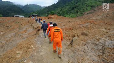 Penampakan Longsor Dusun Cimapag yang Rata dengan Tanah