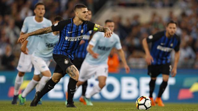 FOTO: Menang Dramatis, Inter Milan Menuju Liga Champions