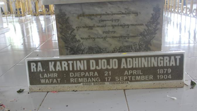 Makam R.A. Kartini (Liputan6.com / Ahmad Adirin)