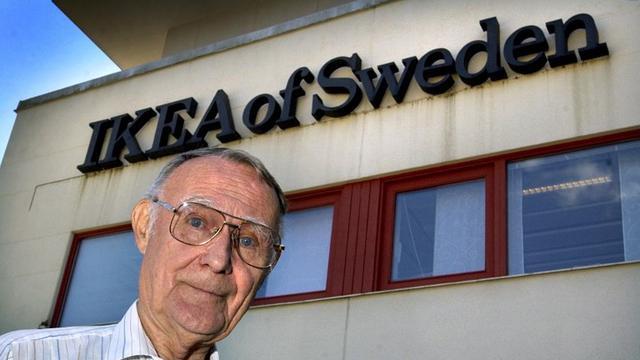 Pendiri IKEA Ingvar Kamprad Meninggal Dunia di Usia 91 Tahun