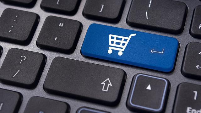 Ilustrasi e-Commerce, eCommerce, Online Marketplace, Bisnis Online