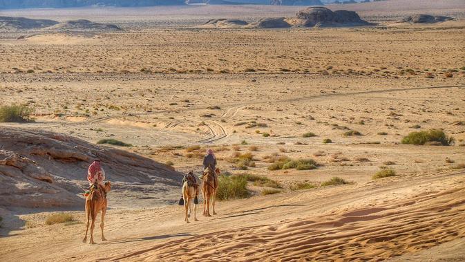 Wadi Rum Protected Area, Yordania. (Pixabay.com)