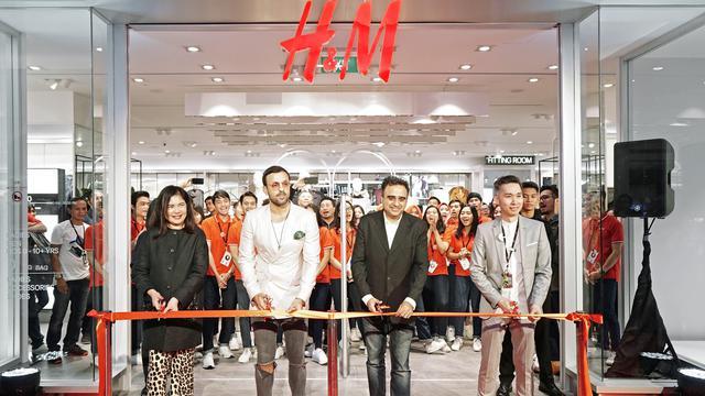 Bantu masyarakat di Palu, H&M buka gerai terbaru di Plaza Indonesia