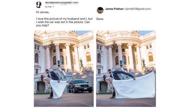 Permintaan dari seorang netizen kepada James Fridman (Sumber: boredpanda)