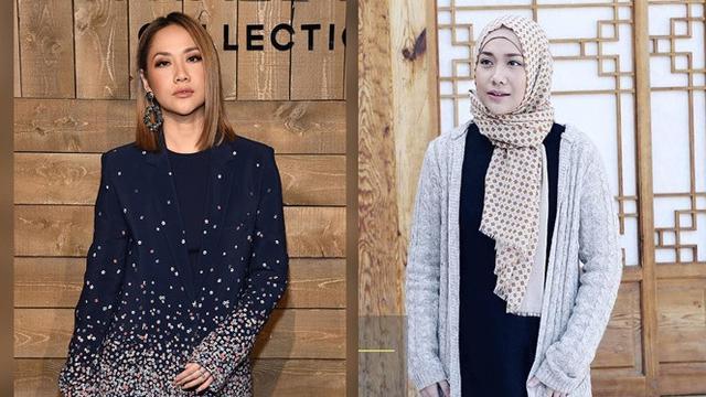 6 Pesona Bunga Citra Lestari saat Pakai Hijab, Makin Anggun