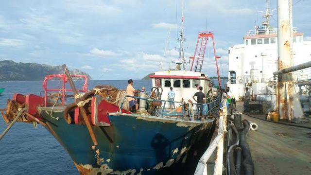 Drama Penangkapan Kapal China di Laut Natuna
