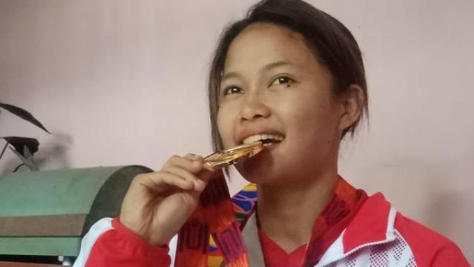 Perjuangan Peraih Emas di Sea Games 2019, Pernah Berjualan Cilok Demi Bekal Pelatnas