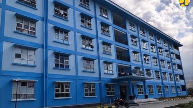 Rumah Instan Sederhana Sehat (Risha) jadi solusi rekonstruksi rumah yang rusak atau hancur akibat gempa.(Foto: Kementerian PUPR)
