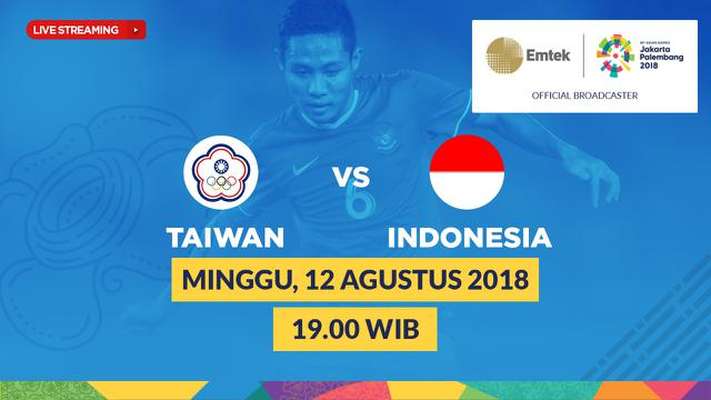 Live Streaming Sepak Bola Asian Games 2018 di SCTV: Timnas ...