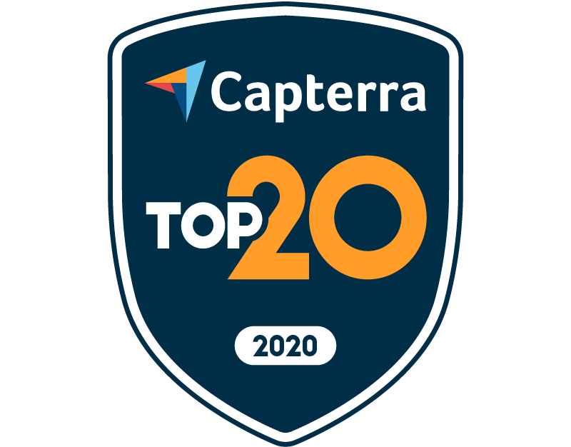 Capterra Top 20 for Event Management Feb-20