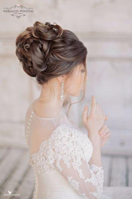 Penteado de noiva, primavera, verão, outono ou inverno?