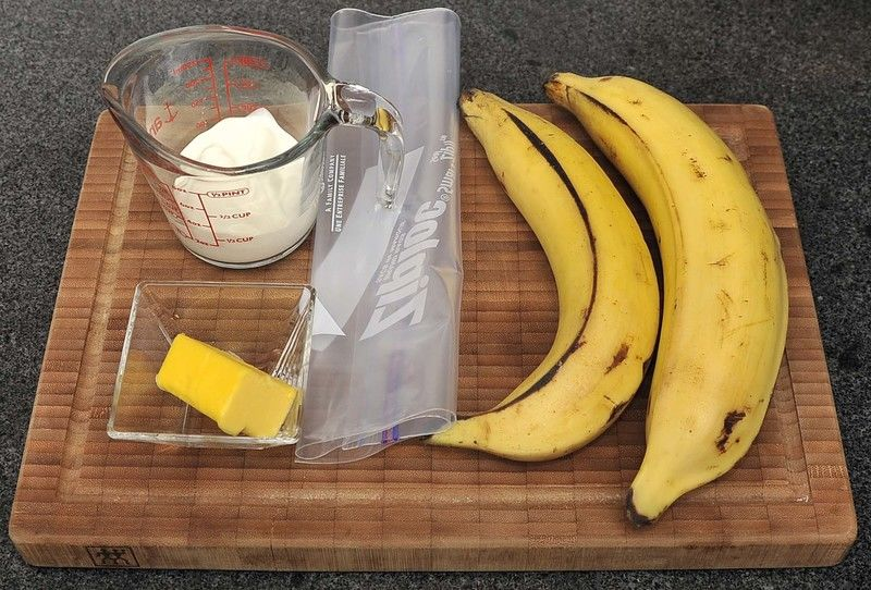 Image result for PLATANOS MACHO CREMA Y CANELA