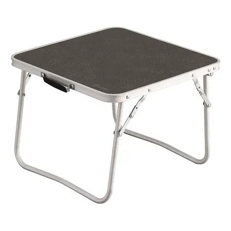 table d appoint pliante outwell nain low noir aluminium