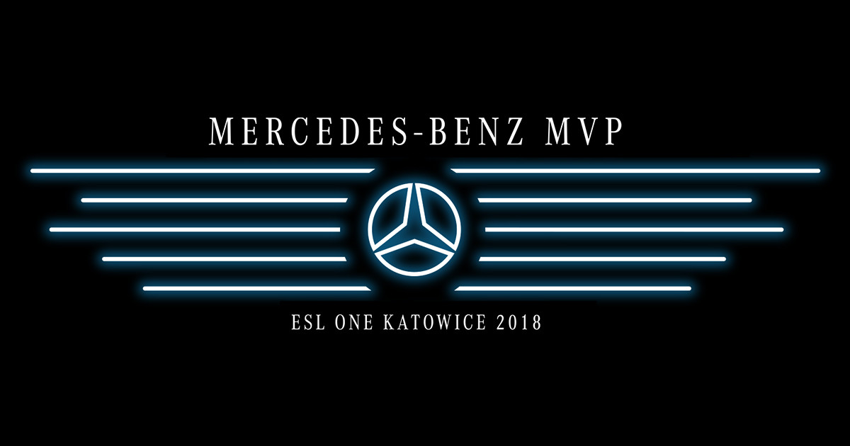 ESL Offers Up A Mercedes Benz To Katowice MVP News