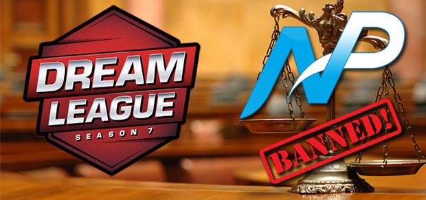 dreamleague team np ban