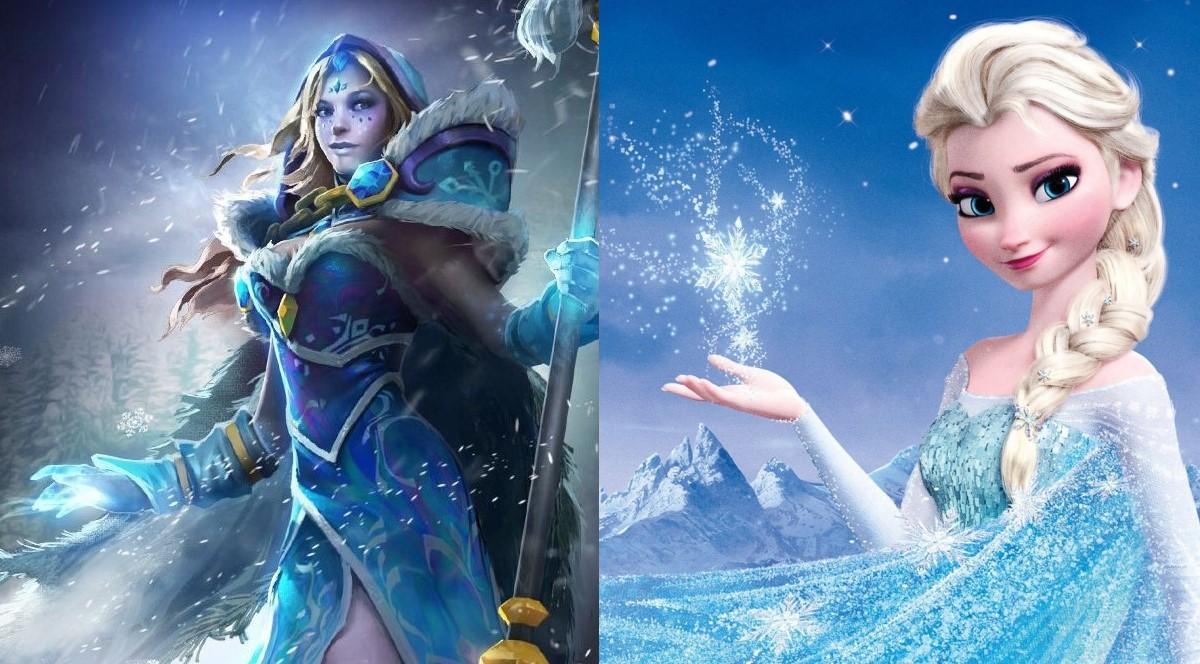 5 Dota Heroes That Resemble Disney Characters