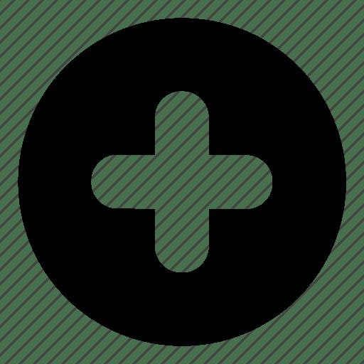 Action, button, create, folder, new, open, plus icon