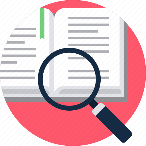 Search study topic icon