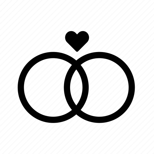 Download Heart, hearts, in love, infinity, love, rings, valentines icon