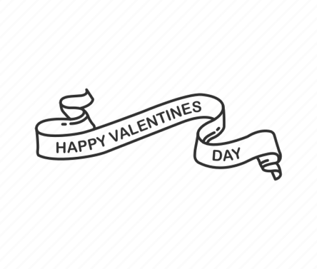 Banner Happy Valentines Day Love Sign Romantic Valentines Valentines Banner Valentines Day Icon