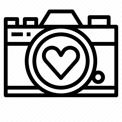 Download Camera, love, married, wedding icon