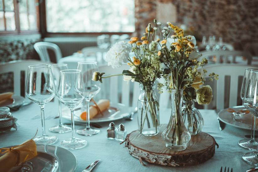 tables de mariage rondes