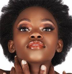Maquillage Peau Noire Mariage Top Coiffure Rajout Naturel