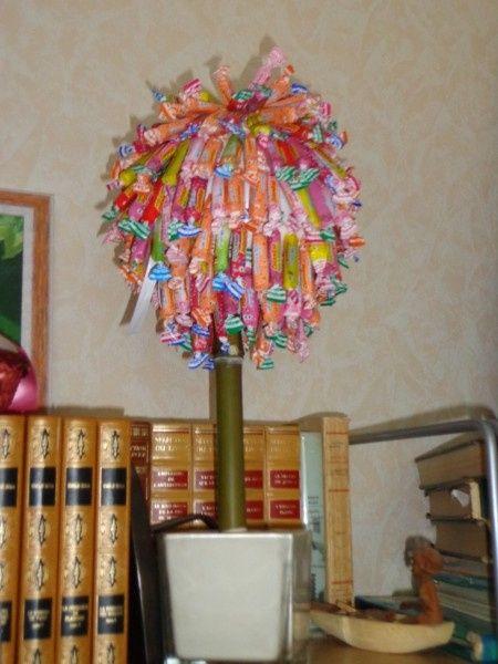 Arbres Bonbons Fait Maison Arlequins Et Carambars